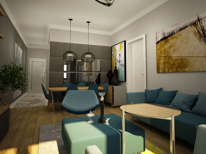 Westview Apartments Living Room 2