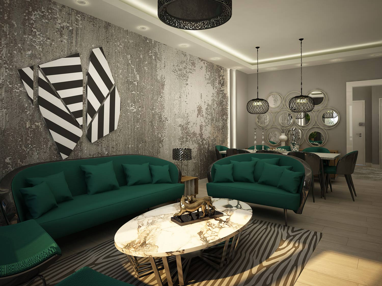 midtown living room